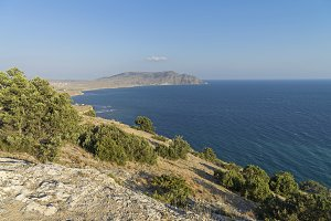 View of the Cape Meganom. Crimea