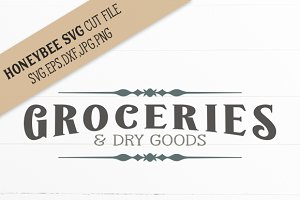 Groceries & Dry Goods