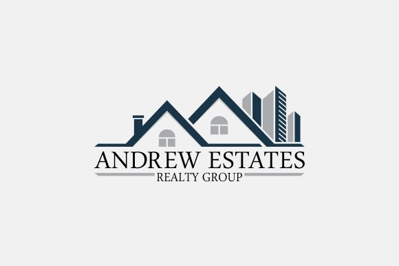 real estate logo logo templates creative market