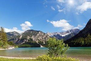 Plansee summer view, Austria