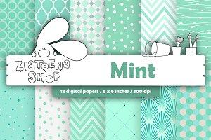 Mint Paper Pack