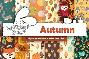 Autumn Paper pack