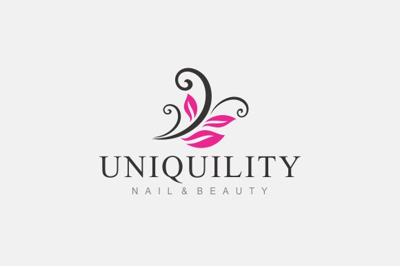 Nail Beauty Logo Templates Creative Market