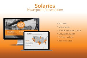 Solaries Powerpoint Template