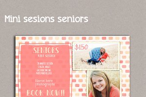 Senior Photography Template