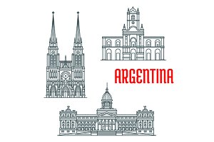 Argentina buildings and landmarks