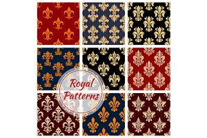 Floral royal ornament patterns