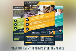 Startup Event Flyer Template