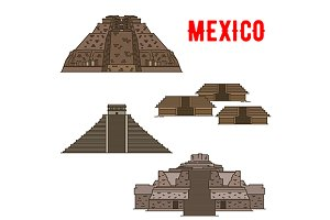 Mexican cultural ancient landmarks