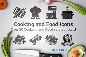 Cooking and Food Icons