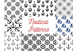 Nautical and marine patterns
