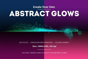 Abstract Glows [Dividers Generator]