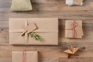 Rustic Christmas Presents