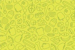 28 Unique Food & Health Icons