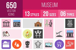650 Museum Icons