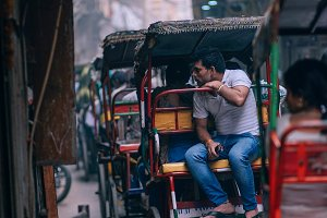 Rickshaw Ride Along