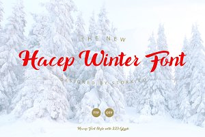 Hacep Winter Font
