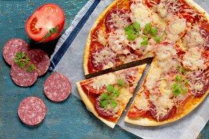 Tasty Italian pizza