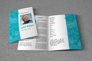Funeral Program Template-V622