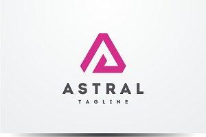 Astral - Letter A Logo