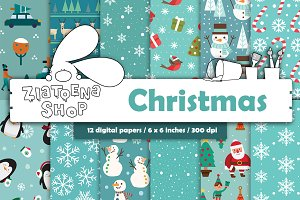 Christmas Paper pack vol. 2