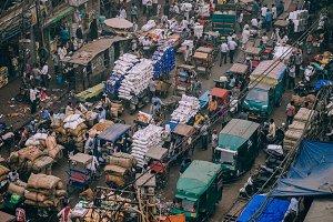 Overwhelming Indian Market