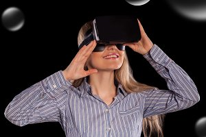 the virtual reality headset