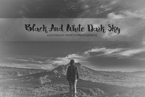 B&W Dark Sky LR Presets (Free Photo)