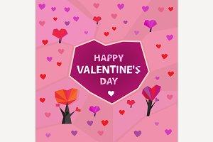 Saint Valentine's Postcard