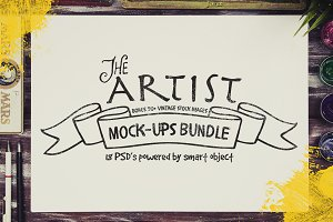 The Artist Mock-ups Bundle