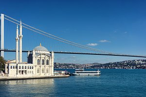 Bridge on the Bosphorus Strait