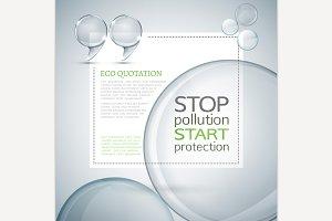 Eco Quote Illustration