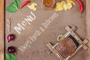 Menu Always Fresh and Delicious