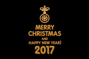 happy new year 2017 merry Christmas
