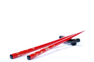 Japanese red chopstick