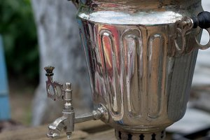 Traditional Russian tea from