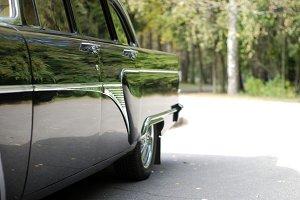 limousine on the park