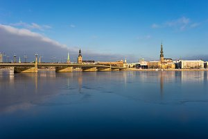 Old Riga in summer