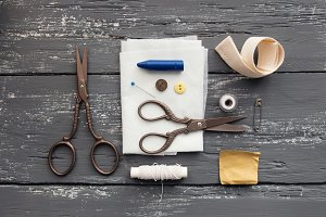 Sewing and knitting tools