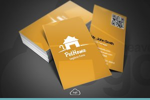 Pet Home Business Card