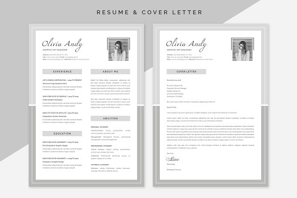 olivia resume cover letter - Cover Letter And Resumes