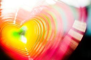 Abstract heart photo