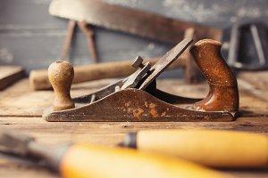 Carpenter workplace