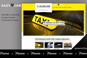 Easycab - Taxi WordPress Theme