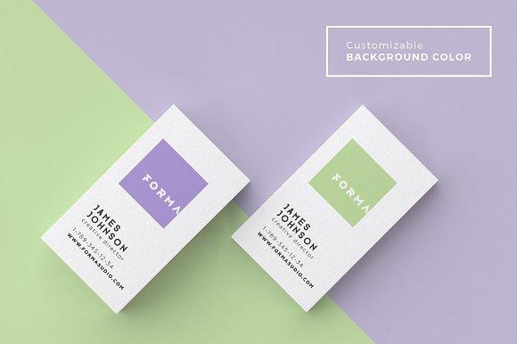 Business cards mockup pack product mockups creative market colourmoves