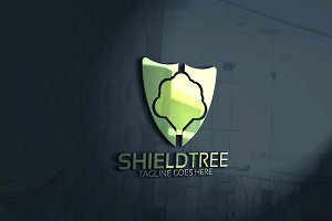 Shield Tree Logo