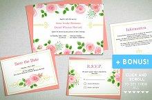"""""""Garden Rose"""" Wedding Set (standart)"""