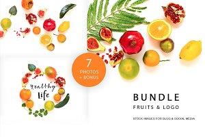 Bundle fruits&logos