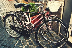 Retro city bicycles