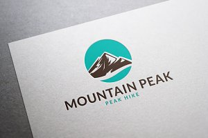 Mountain Peak Logo